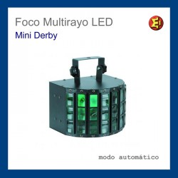 Alquiler Foco Multirayo LED Mini Derby