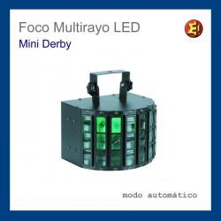 Foco Multirayo LED Mini Derby
