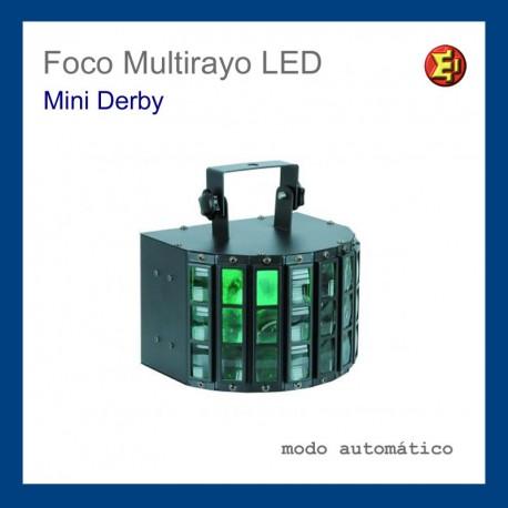 Alquiler Foco Multirayo LED Mini Derby