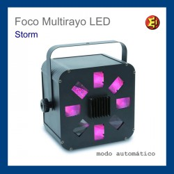 Alquiler Foco Multirayo LED Storm