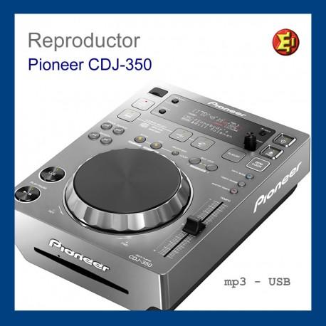 Alquiler Reproductor Pioneer CDJ-350