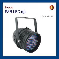 Foco PAR LED  20 W RGB