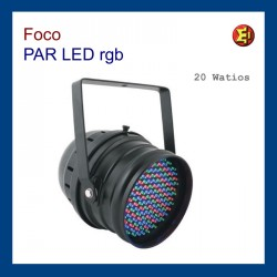 Alquiler Foco PAR-LED  20W RGB