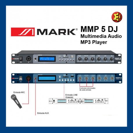 Reproductor MP3 MARK MMP5 con USB/SD