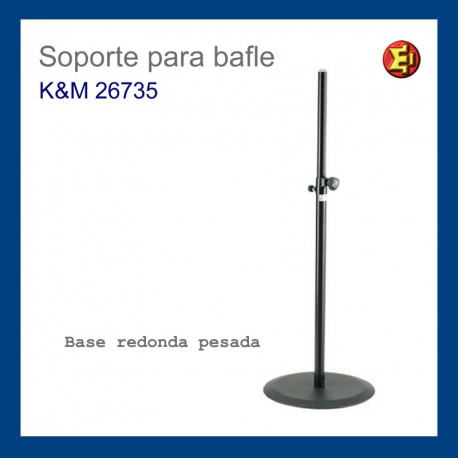 Alquiler Pie altavoz Base pesada KM 26735