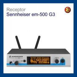 Receptor inalámbrico Sennheiser. em500 G3