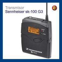 Inalámbrico Petaca Sennheiser SK 100 G3 alquiler