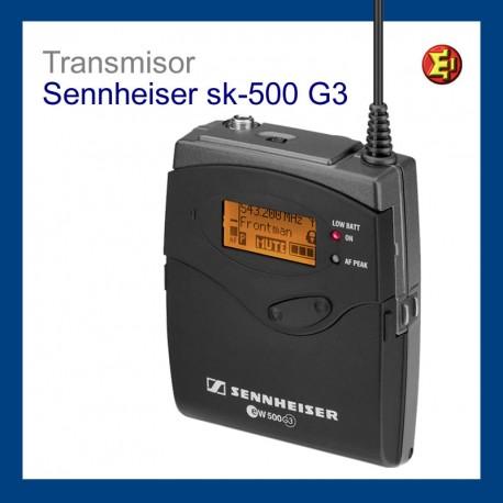 Inalámbrico TX. Petaca Sennheiser SK 500 G2