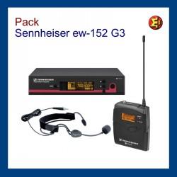 Sennheiser EW152 G3 Manos Libres alquiler