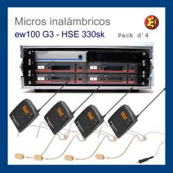 Pack Sennheiser G3 ew100 sk4