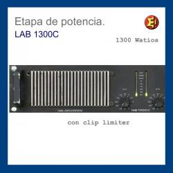 Etapa de potencia LAB 1300c
