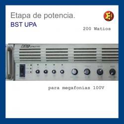 Alquiler amplificador BST UPA 2150