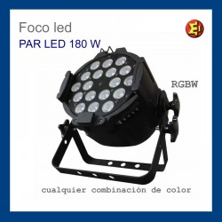 alquiler Foco PAR LED 180W RGBW