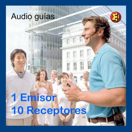 Audio-guia PACK 10