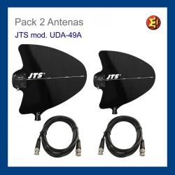 Alquiler Pack de 2 antenas JTS