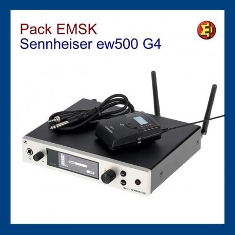 Pack 4 Sennheiser ew-100 G3
