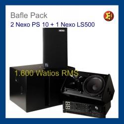 BaflePack NEXO PS10 +SUB