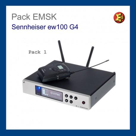 RX. Receptor Sennheiser EM 100 G4