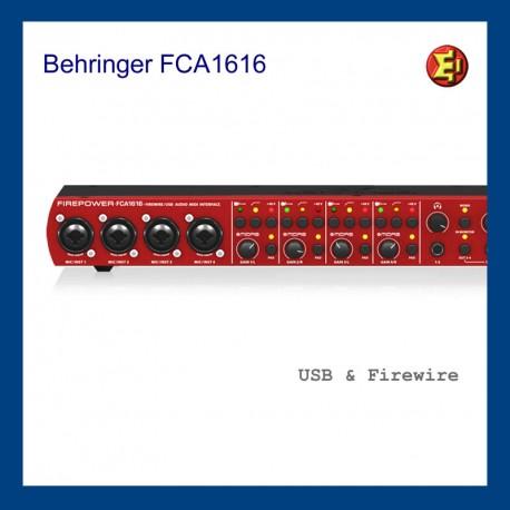 Tarjeta de sonido Behringer FIREPOWER FCA1616