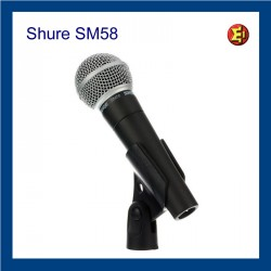 Lloguer Micròfon Shure SM58