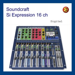 Mesa de sonido Soundcraft Si Expression 1