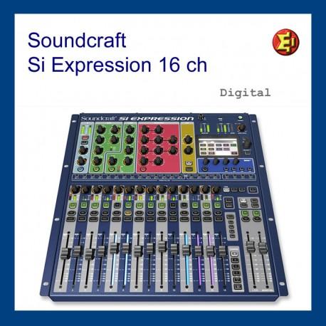 Alquiler Soundcraft Si Expression 1