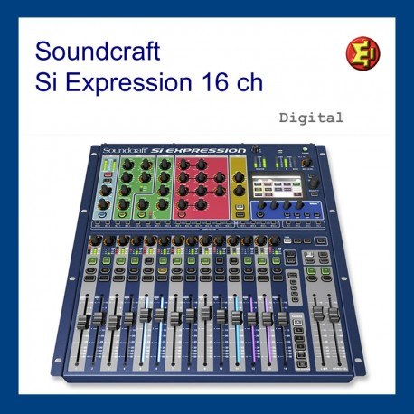 Lloguer Soundcraft Si Expression 1