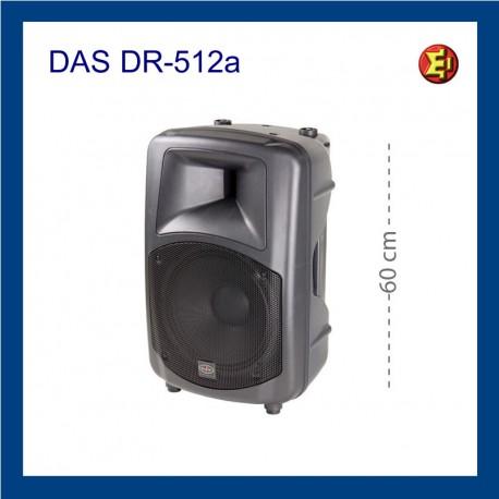 Alquiler altavoz DAS DR 512A