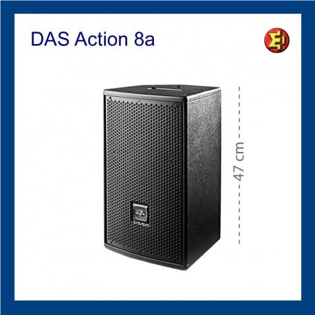 Alquiler altavoz DAS Action  8A