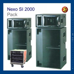 Bafle NEXO Si2000 Pack2