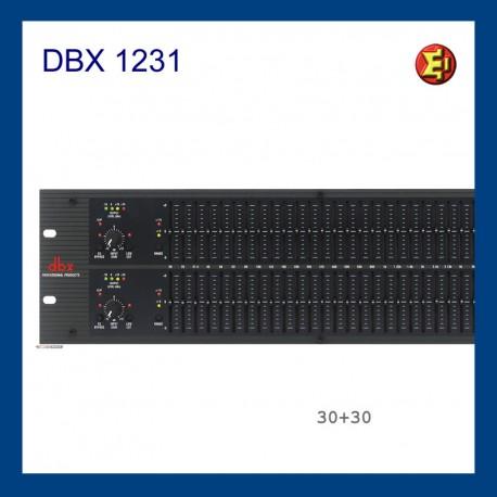 Alquiler Ecualizador DBX-1231