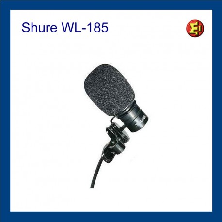Alquiler Solapa Shure WL-185