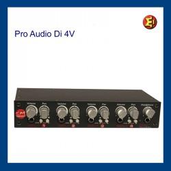 Lloguer DI BOX ProAudio Di4V