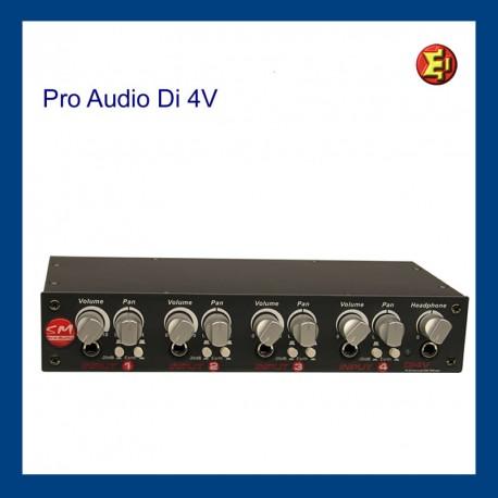 Alquiler DI BOX ProAudio Di4V