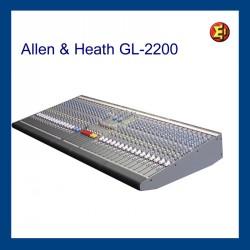 Mesa de sonido. Allen & Heath GL 2200-32