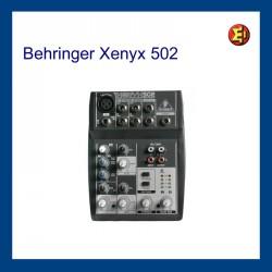 Lloguer BEHRINGER Xenyx-502
