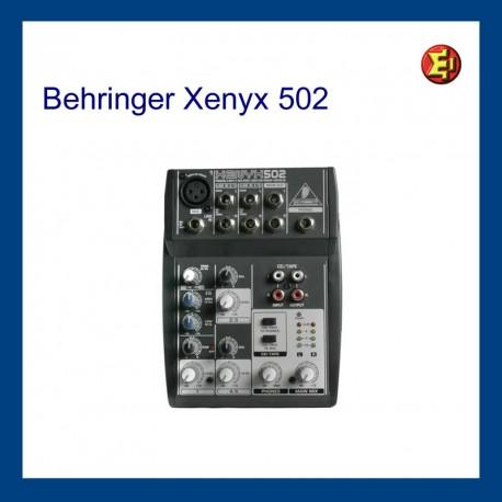 Alquiler BEHRINGER Xenyx-502