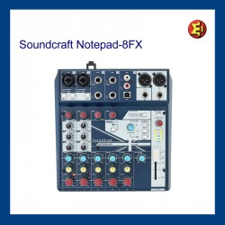 Lloguer Soundcraft Notepad 8FX