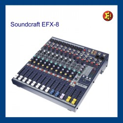 Taula de so Soundcraft EFX8