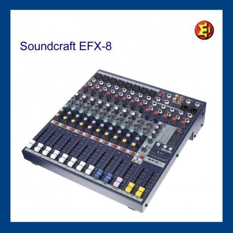 Alquiler Soundcraft EFX-8
