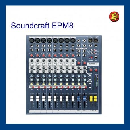 Alquiler Soundcraft EPM 8