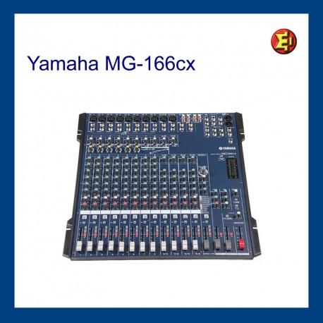 Alquiler YAMAHA MG-16/6cx