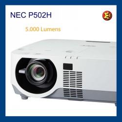 Proyector NEC P502H