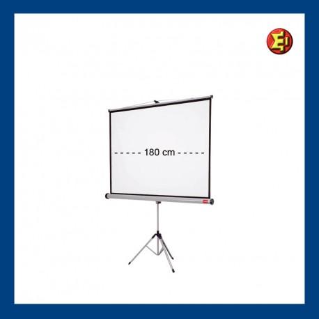 Alquiler Pantalla de proyección trípode 180