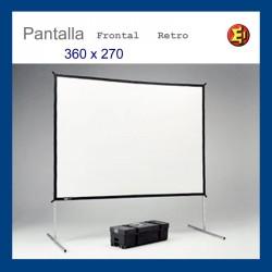 Lloguer Pantalla 360x270
