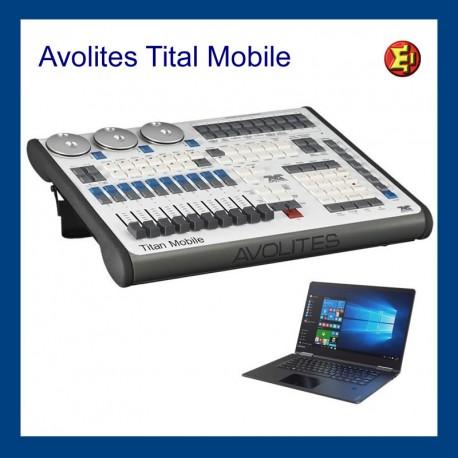 Alquiler Avolites Titan Mobile