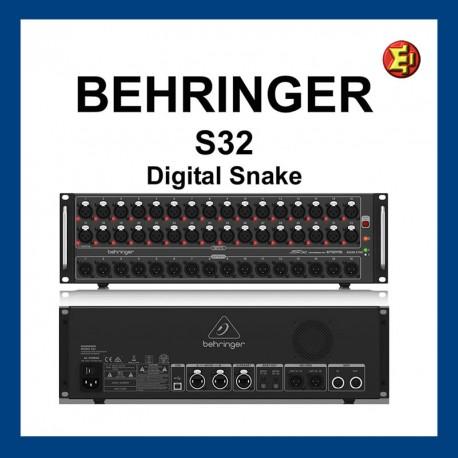 Alquiler Stagebox Behringer S32