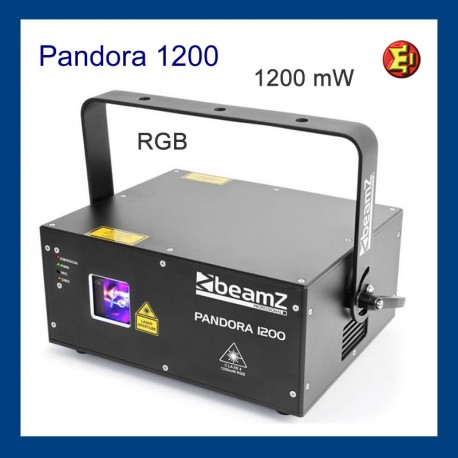 Alquiler Laser Pandora