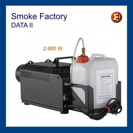 Alquiler Smoke Factory Data II