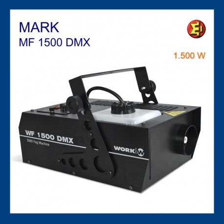 Alquiler máquina de humo MF 1500 DMX